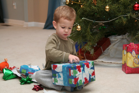 Owen Opening Gifts